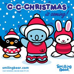 Hi Pinteresters! C-C-Christmas Is Coming!    http://smilingbear.com/blog/c-c-christmas-is-coming    #smilingbear #smilemore #koala #koalabear #bear #smile #smiling #happy #cute #kawaii #australia #sydney #beach #japan #art #fashion #design #illustration #characterdesign #fun #meme #internet #otaku #plush #christmas #xmas #snow