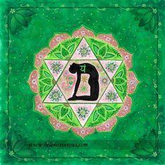 Anahata Chakra del  Corazón Gobierna nuestros sentimientos de compasión, perdón, comprensión, generosidad, la empatía, y el amor.