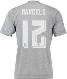 ca79c1807a743 tipografía camiseta suplente Real Madrid 2015 16