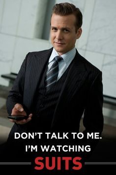 Love me some Harvey Specter on Suits!