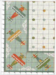 Artesanato e Cia : gráfico de Tapete aviões-arraiolo