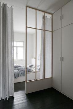 Modern minimal bedro