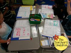 Using Numbers Every Day folders to help reinforce skills...different skills every day!