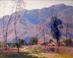 """""""Farmhouse, San Gabriel Mountains,"""" Hanson Puthuff"""