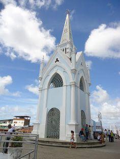 Torre localizada no Morro de Nossa Senhora da Conceição - Recife/PE