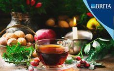 Чай из крапивы и шиповника   Кулинарные рецепты от «Едим дома!» Cooking With Kids, Moscow Mule Mugs, Smoothies, Alcoholic Drinks, Health Fitness, Tasty, Fruit, Tableware, Kitchen