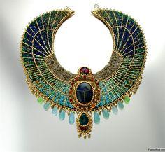 Египетское колье египетской царицы Арибуран