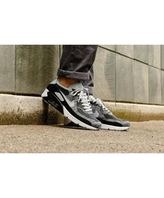 c33a3d9fe Cheap Nike Air Max 90 Ultra 2.0 Flyknit Black Wolf Grey Pure Platinum Dark  Grey