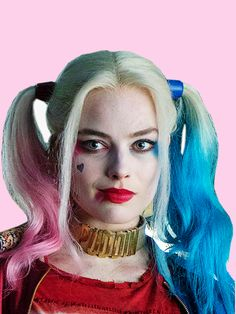 Margot Robbie as Harley Queen in Suicide Squad.