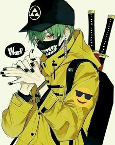 The style is a reflection of your attitude and your personality. Dark Anime Guys, Cool Anime Guys, Cute Anime Boy, Anime Boys, Manga Art, Manga Anime, Sad Anime, Kawaii Anime, Anime Gangster