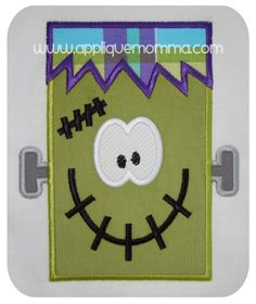 Mr. Frankenstein Applique Design