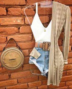 neutrals Fashion 101, Teen Fashion Outfits, Chic Outfits, Womens Fashion, Kimono Cardigan, Summer Kimono, Feminine Style, Swagg, Country Girls