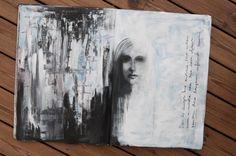 Art journaling, Two sides