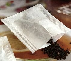 Our premade tea bags are 100% natural, oxygen bleached without the use of any harsh chemicals. They  are hand made fiber.To seal one side of the tea bag you need a regular iron or hair straightening iron very easy: http://www.organicteaetc.com/products/pre-made-natural-tea-bags/