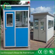 Guard house WhatsApp: +8618620106756 Steel Structure Buildings, Guard House, Coffee Bar Home, Portable Toilet, Prefab Homes, Decoration, Container, Kitchen Appliances, Industrial