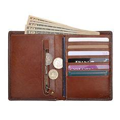 Bridge Railway Construction Leather Passport Holder Cover Case Travel One Pocket