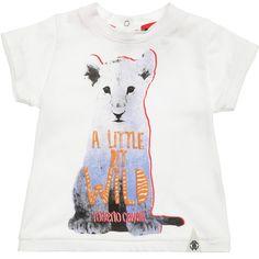 6eaa470d2b4 Baby Boys White  A Little Bit Wild  T-Shirt