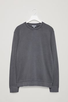 COS | Washed jersey sweatshirt