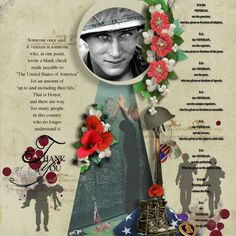 A veteran is... Kit: Memorial Day By BooLand Design