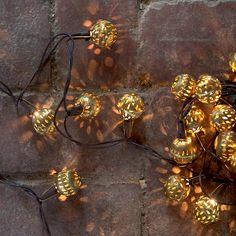 Brass Pin Dot Lights