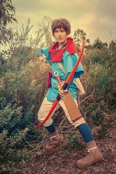 Princess Mononoke: Legend of Ashitaka by *cielroses on deviantART