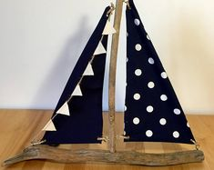 Handmade Driftwood Boat