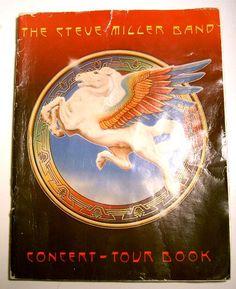 Steve Miller Band Tour Book