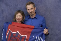 Viggo and Japanese movie critic Yoko Narita.