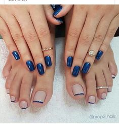 40 Toe Nail Designs-- 40 Toe Nail Designs For Summer Pretty Toe Nails, Cute Toe Nails, Toe Nail Art, Gorgeous Nails, My Nails, Nail Art Vernis, Toenail Art Designs, Feet Nails, Luxury Nails