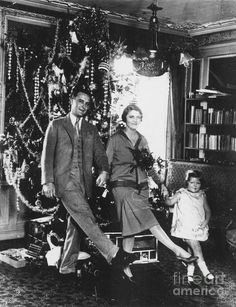 F. Scott, Zelda and Scottie Fitzgerald