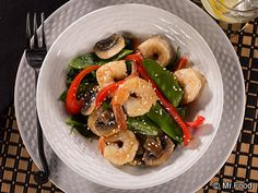 Sizzling Shrimp Stir Fry - A takeout restaurant favorite you can now make in your very own kitchen!
