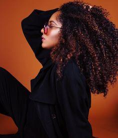- Mia V (@miavenise) on Instagram: curly hair. Natural hair. Long curly hair.