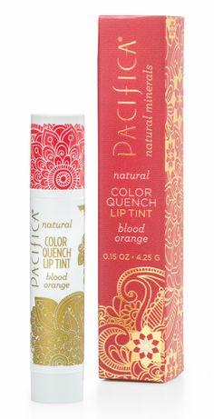 Color Quench Lip Tint - Blood Orange | Pacifica Perfume (available at Target, recommended by @Jessica MF!)