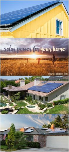 Get Solar Power for