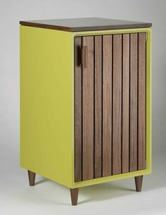 Green Liquor Cabinet by Chris Gray Furniture