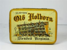 Old Shop Stuff | Old-Tobacco-Tin-Lloyds-Old-Holborn for sale (