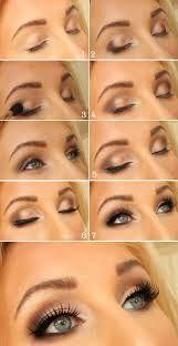 Mooie oog make up.