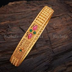 Shop From An Exclusive Collection Of Designer Bangles, Kadas & Bracelets For Women Online. Buy Silver & Bridal Bangles at Kushal's Fashion Jewellery. Gold Bangles Design, Gold Earrings Designs, Beaded Jewelry Designs, Hand Jewelry, Craft Jewelry, India Jewelry, Silver Jewellery Online, Branded Jewellery, Real Diamond Earrings