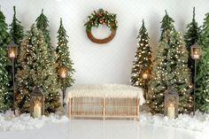 Baby Christmas Photos, Christmas Mini Sessions, Christmas Minis, Rustic Christmas, Simple Christmas, Christmas Settings, Christmas Decorations, Holiday Decor, Christmas Village Sets