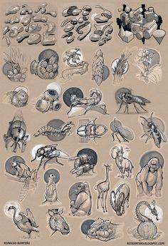 Sketchbook: Reinaldo Quintero Sketchbook