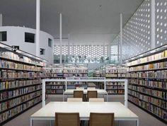 Kanazawa Umimirai Library (Kanazawa City, Japan)