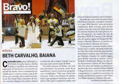 #BethCarvalho 2008 Revista Carta Capital