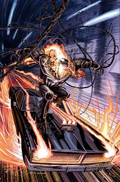 GHOST RIDER #5 by Dustin Weaver