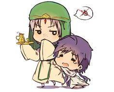 Sindbad x Jafar by ~yikooooo on deviantART. PROTECT ME FROM KOGYOKU!