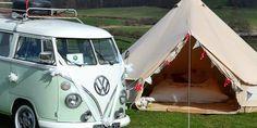 Cool Camping:  Glamping
