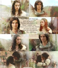 """""""Can't we have what has been given to us?"""" Caspian said, looking at Susan's bright eyes. He meant every single ..."""