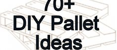Crafty collection of over 70 Fun D.I.Y. Crafty Pallet projects. These are great for D.I.Y. Craft inspirations. Most of the links have instructions for the projects.  If you Plan on using them in the house, just be sure they are not treated with chemicals.  You can even buy pallets. No more burning pallets when we go camping, lol.