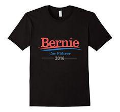 Bernie for Fuhrer 2016 Campaign T-Shirt - Male Small - Black SandersYouth http://www.amazon.com/dp/B017NWT7GK/ref=cm_sw_r_pi_dp_b-3rwb07J2SST
