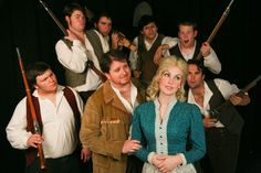 Seven Brides for Seven Brothers at the 6th Street Playhouse.