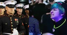 Trump Protesters Pass 100 Marines — BIG Mistake When Heroes See Their Sign